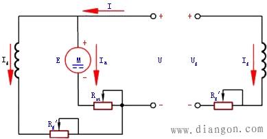 直流电机电枢接线图_直流电动机的基本工作原理和接线图