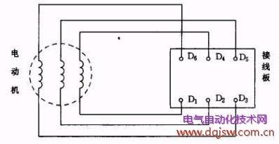 三相异步电动机的接线方法 .