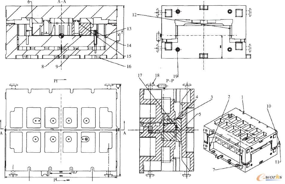 模具结构组织图解