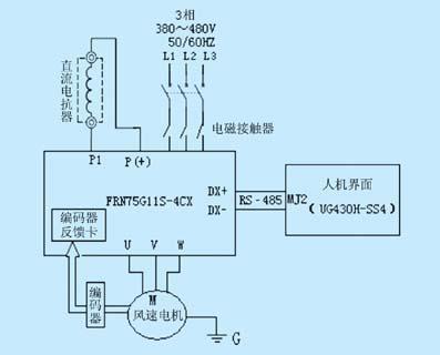 图6     变频器接线图