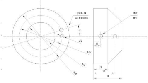 椭圆锥面展开图形