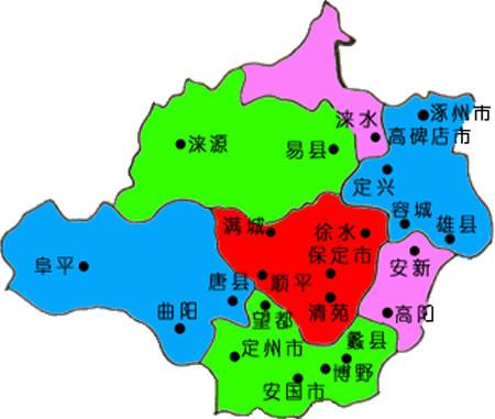 河北省保定市东; 河北省保定市地图河北保定市地图河北省保定市野三坡